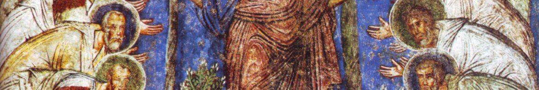 Jesus and his twelve disciples - Fresque from Cappadocia, 11th Century
